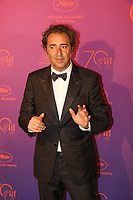 Paolo Sorrentino - CANNES 2017 - RED CARPET DU DINER DE GALA