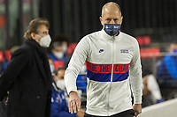 FORT LAUDERDALE, FL - DECEMBER 09: Head coach Gregg Berhalter of the United States during a game between El Salvador and USMNT at Inter Miami CF Stadium on December 09, 2020 in Fort Lauderdale, Florida.