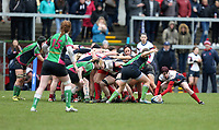 Tuesday 3rd April 2018 | Malone Women vs Ballynahinch Women<br /> <br /> Jenna Stewart during the Easter Tuesday Ulster Womens final between Malone and Ballynahinch at Kingspan Stadium, Ravenhill Park, Belfast, Northern Ireland. Photo by John Dickson / DICKSONDIGITAL