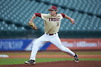 Boston College Eagles starting pitcher Dan Metzdorf (36) in action against the North Carolina Tar Heels in Game Five of the 2017 ACC Baseball Championship at Louisville Slugger Field on May 25, 2017 in Louisville, Kentucky. The Tar Heels defeated the Eagles 10-0 in a game called after 7 innings by the Mercy Rule. (Brian Westerholt/Four Seam Images)