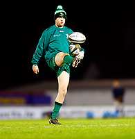 20th February 2021; Galway Sportsgrounds, Galway, Connacht, Ireland; Guinness Pro 14 Rugby, Connacht versus Cardiff Blues; Jack Carty (Connacht) during the warm up