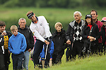 Joost Luiten chips onto the 7th green during the final round of the ISPS Handa Wales Open 2012..03.06.12.©Steve Pope