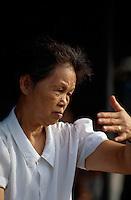 China, Kanton (Canton, Guangzhou), Schattenboxen (TaiJi Quan)
