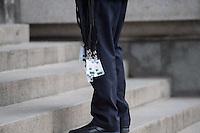 Trauerfeier Richard v. Weizsaecker am Mittwoch den 11. Februar 2015 im Berliner Dom.<br /> Im Bild: Zugangsberechtigungen zur Trauerfeier.<br /> 11.2.2015, Berlin<br /> Copyright: Christian-Ditsch.de<br /> [Inhaltsveraendernde Manipulation des Fotos nur nach ausdruecklicher Genehmigung des Fotografen. Vereinbarungen ueber Abtretung von Persoenlichkeitsrechten/Model Release der abgebildeten Person/Personen liegen nicht vor. NO MODEL RELEASE! Nur fuer Redaktionelle Zwecke. Don't publish without copyright Christian-Ditsch.de, Veroeffentlichung nur mit Fotografennennung, sowie gegen Honorar, MwSt. und Beleg. Konto: I N G - D i B a, IBAN DE58500105175400192269, BIC INGDDEFFXXX, Kontakt: post@christian-ditsch.de<br /> Bei der Bearbeitung der Dateiinformationen darf die Urheberkennzeichnung in den EXIF- und  IPTC-Daten nicht entfernt werden, diese sind in digitalen Medien nach §95c UrhG rechtlich geschuetzt. Der Urhebervermerk wird gemaess §13 UrhG verlangt.]