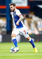 21st November 2020; Kenilworth Road, Luton, Bedfordshire, England; English Football League Championship Football, Luton Town versus Blackburn Rovers; Adam Armstrong of Blackburn Rovers and leading this seasons goal total of 12 on attack