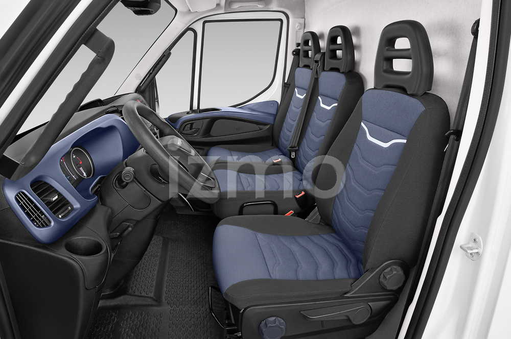 Front seat view of 2021 Iveco Daily - 4 Door Cargo Van Front Seat  car photos