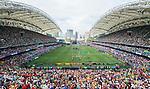 HSBC Hong Kong Rugby Sevens 2017 on 08 April 2017 in Hong Kong Stadium, Hong Kong, China. Photo by Weixiang Lim / Power Sport Images