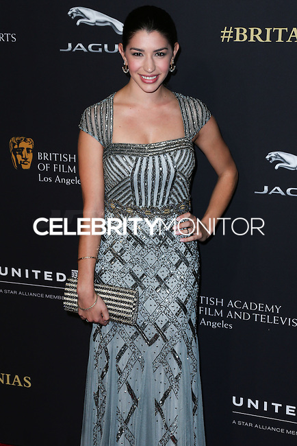 BEVERLY HILLS, CA, USA - OCTOBER 30: Jamie Gray Hyder arrives at the 2014 BAFTA Los Angeles Jaguar Britannia Awards Presented By BBC America And United Airlines held at The Beverly Hilton Hotel on October 30, 2014 in Beverly Hills, California, United States. (Photo by Xavier Collin/Celebrity Monitor)