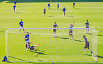 Rangers v St Mirren:  Alfredo Morelos taps in his second goal following a cross from team mate Borna Barisic