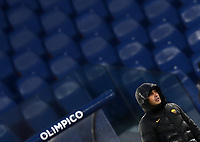 Football, Serie A: AS Roma - Sampdoria calcio, Olympic stadium, Rome, January 3, 2021. <br /> Roma's coach Paulo Fonseca looks on during the Italian Serie A football match between Roma and Sampdoria at Rome's Olympic stadium, on January 3, 2021.  <br /> UPDATE IMAGES PRESS/Isabella Bonotto