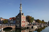 Nederland  Alkmaar- September 2020 .   Het Havengebouw ( de vroegere Accijnstoren) .  Foto : ANP/ Hollandse Hoogte / Berlinda van Dam