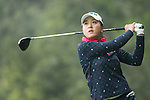 Lin Tzu-Chi of Chinese Taipei tees off at the 14th hole during Round 3 of the World Ladies Championship 2016 on 12 March 2016 at Mission Hills Olazabal Golf Course in Dongguan, China. Photo by Victor Fraile / Power Sport Images