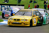 2002 British Touring Car Championship. #22 Colin Turkington (GBR). Team Atomic Kitten. MG ZS.