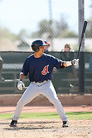Kevin Fontanez, Cleveland Indians 2010 minor league spring training..Photo by:  Bill Mitchell/Four Seam Images.