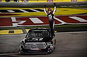 NASCAR Camping World Truck Series<br /> Stratosphere 200<br /> Las Vegas Motor Speedway, Las Vegas, NV USA<br /> Friday 2 March 2018<br /> Kyle Busch, Kyle Busch Motorsports, Toyota Tundra Cessna wins truck race.<br /> World Copyright: John K Harrelson<br /> NKP / LAT Images