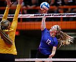 2019 South Dakota State Volleyball Championships Warner vs Northwestern
