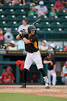 Bradenton Marauders  at bat during a Florida State League game against the Palm Beach Cardinals on May 10, 2019 at LECOM Park in Bradenton, Florida.  Bradenton defeated Palm Beach 5-1.  (Mike Janes/Four Seam Images)