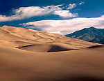 Sand Dunes in Great Sand Dunes National Park, Alamosa, Colorado, USA. John offers private photo tours to Great Sand Dunes National Park and Rocky Mountain National Park, Colorado.