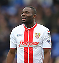 Francis Zoko of Stevenage<br />  - Peterborough United v Stevenage - Sky Bet League One - London Road, Peterborough - 23rd November 2013. <br /> © Kevin Coleman 2013