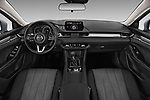 Stock photo of straight dashboard view of 2018 Mazda Mazda6 Dynamique 4 Door Sedan Dashboard