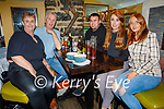 Shauna Moriarty from Manor Ave celebrating her birthday in the Brogue Inn on Saturday, l to r: Noelle and Jeremiah Moriarty, Anthony Moynihan, Shauna and Julie Moriarty.