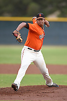 San Francisco Giants pitcher Carlos Diaz (71) during an Instructional League game against the SK Wyverns on October 17, 2014 at Giants Baseball Complex in Scottsdale, Arizona.  (Mike Janes/Four Seam Images)