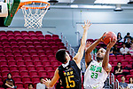 Austin Bryant M #23 of Tycoon Basketball Team attempts to score against Mak Ka Wing #15 of Eagle Basketball Team during the Hong Kong Basketball League game between Tycoon vs Eagle at Southorn Stadium on May 11, 2018 in Hong Kong. Photo by Yu Chun Christopher Wong / Power Sport Images