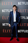 Aron Piper attends to 'Elite' premiere at Museo Reina Sofia in Madrid, Spain. October 02, 2018. (ALTERPHOTOS/A. Perez Meca)