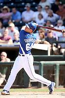 Scott Thorman, Kansas City Royals 2010 minor league spring training..Photo by:  Bill Mitchell/Four Seam Images.