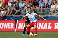 Cary, North Carolina  - Sunday May 21, 2017: Julie Ertz, Rosana during a regular season National Women's Soccer League (NWSL) match between the North Carolina Courage and the Chicago Red Stars at Sahlen's Stadium at WakeMed Soccer Park.