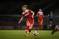 Boyds, MD - Wednesday August 30, 2017: Tori Huster during a regular season National Women's Soccer League (NWSL) match between the Washington Spirit and the North Carolina Courage at Maureen Hendricks Field, Maryland SoccerPlex.
