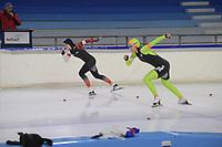 SCHAATSEN: HEERENVEEN: 26-10-2019, IJsstadion Thialf, KNSB trainingswedstrijd, ©foto Martin de Jong