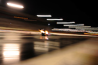 Oct. 31, 2008; Las Vegas, NV, USA: NHRA top fuel dragster driver Terry McMillen races during qualifying for the Las Vegas Nationals at The Strip in Las Vegas. Mandatory Credit: Mark J. Rebilas-