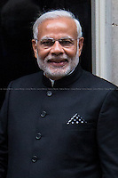 12.11.2015 - Prime Minister of India Narendra Modi visits Downing St. & Parliament Sq.