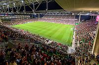 AUSTIN, TX - JUNE 16: Photo of Q2 Stadium during a game between Nigeria and USWNT at Q2 Stadium on June 16, 2021 in Austin, Texas.