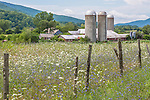 Riverside Farm in Pownal, Vermont, USA