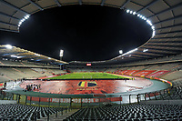 Koning Boudewijn Stadion pictured before a friendly female soccer game between the national teams of Belgium , called the Red Flames and The Netherlands , called the Oranje Leeuwinnen in a pre - bid tournament called Three Nations One Goal with the national teams from Belgium , The Netherlands and Germany towards a bid for the hosting of the 2027 FIFA Women's World Cup , on Thursday 18 th of February 2021  in Brussels , Belgium . PHOTO SPORTPIX.BE | SPP | STIJN AUDOOREN
