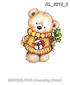 CHRISTMAS ANIMALS, WEIHNACHTEN TIERE, NAVIDAD ANIMALES, paintings+++++,KL6210/2,#xa# ,sticker,stickers