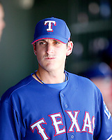 Doug Mathis  - Texas Rangers - 2009 spring training.Photo by:  Bill Mitchell/Four Seam Images