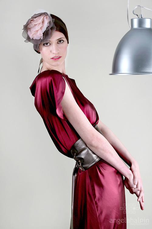 Clothes Designer: Helen James.Model: Iseult Timmons Ward.Photographer: Angela Halpin.Stylist: Mellissa Curry