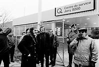 1973 03 LAB - Hydro- Québec - Greve ou manif