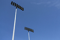 General view of the floodlights ahead of Essex CCC vs Warwickshire CCC, Specsavers County Championship Division 1 Cricket at The Cloudfm County Ground on 16th July 2019