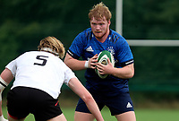 Saturday 5th September 2021<br /> <br /> Ronan Foxe during U19 inter-pro between Ulster Rugby and Leinster at Newforge Country Club, Belfast, Northern Ireland. Photo by John Dickson/Dicksondigital