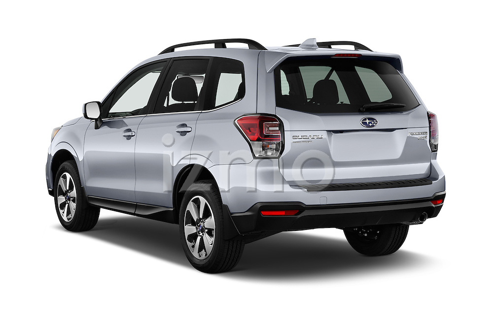 Car pictures of rear three quarter view of 2018 Subaru Forester 2.5i-Limited-CVT 5 Door SUV Angular Rear