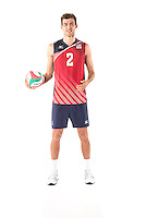 US Men's Volleyball National Team Portraits, May 24, 2016