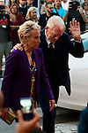 Max Von Sydow and his wife Catherine Von Sydow during the red carpet of the opening ceremony of the Festival de Cine Fantastico de Sitges in Barcelona. October 07, Spain. 2016. (ALTERPHOTOS/BorjaB.Hojas)