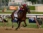 SARATOGA SPRINGS, NY - AUGUST 25: Catholic Boy  #11, ridden by jockey Javier Castellano, wins the Travers Stakes on Travers Stakes Day at Saratoga Race Course on August 25, 2018 in Saratoga Springs, New York. (Photo by Carson Dennis/Eclipse Sportswire/Getty Images)