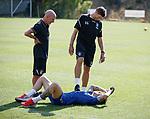 20.06.18 Steven Gerrard and Paul jackson with Josh Windass