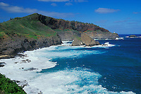Kilauea Point Lighthouse, Kilauea Point National Wildlife Refuge, Hawaii.