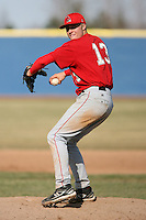April 5, 2009:  /p/ Kolbrin Vitek (13) of the Ball State Cardinals during a game at Amherst Audubon Field in Buffalo, NY.  Photo by:  Mike Janes/Four Seam Images